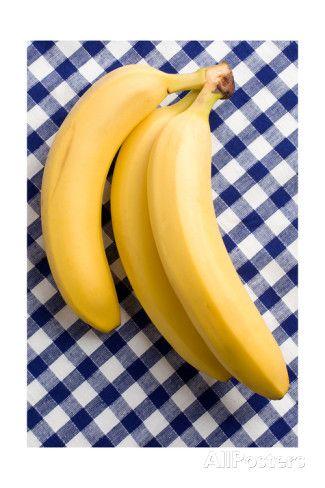 Bananas on gingham
