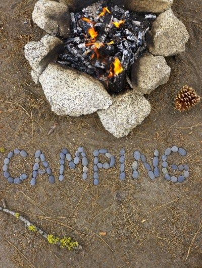 Miss those camping weekends with friends ... and burning dried Christmas trees OH YEAH!