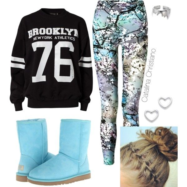 Bailey Bow Uggs Outfit