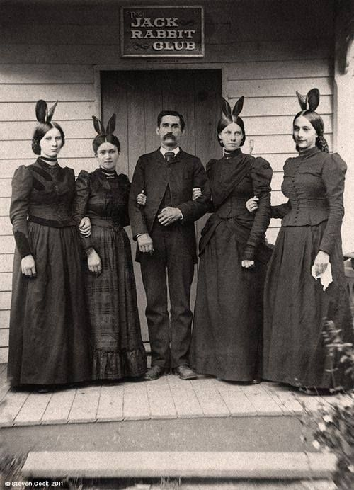 Long before Hugh Hefner, there was the Jack Rabbit Club.