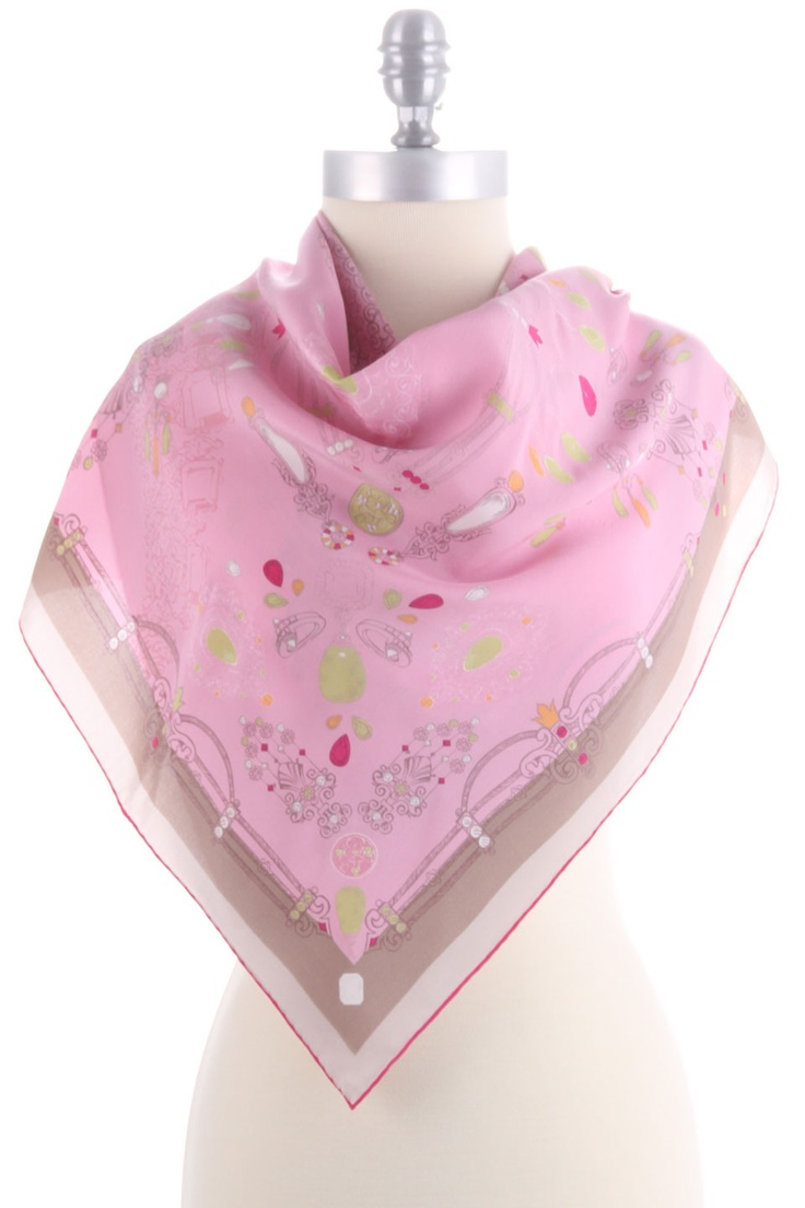 Cartier Scarf I In Pink