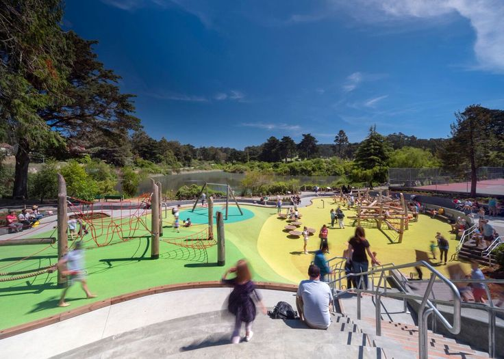 Gallery of Mountain Lake Park Playground / Bohlin Cywinski Jackson - 5