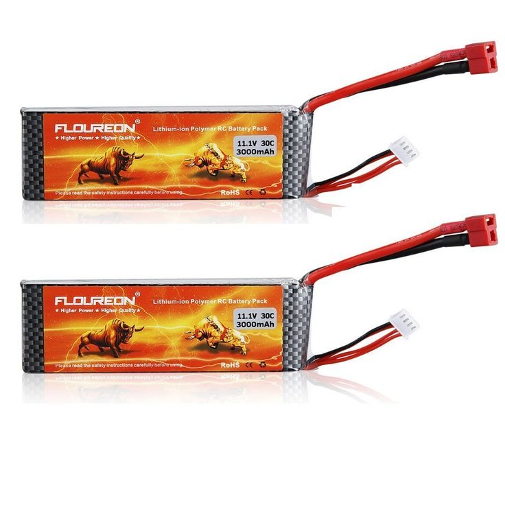 Floureon 2 Packs 3S 11.1V 3000mAh 30C Lipo Battery  $40.99  http://amzn.to/2f6YibM  Your cost could be $0.00 instead of $40.99! Get the Amazon.com Rewards Visa card and you'll automatically get $50.00 off instantly as a gift card.