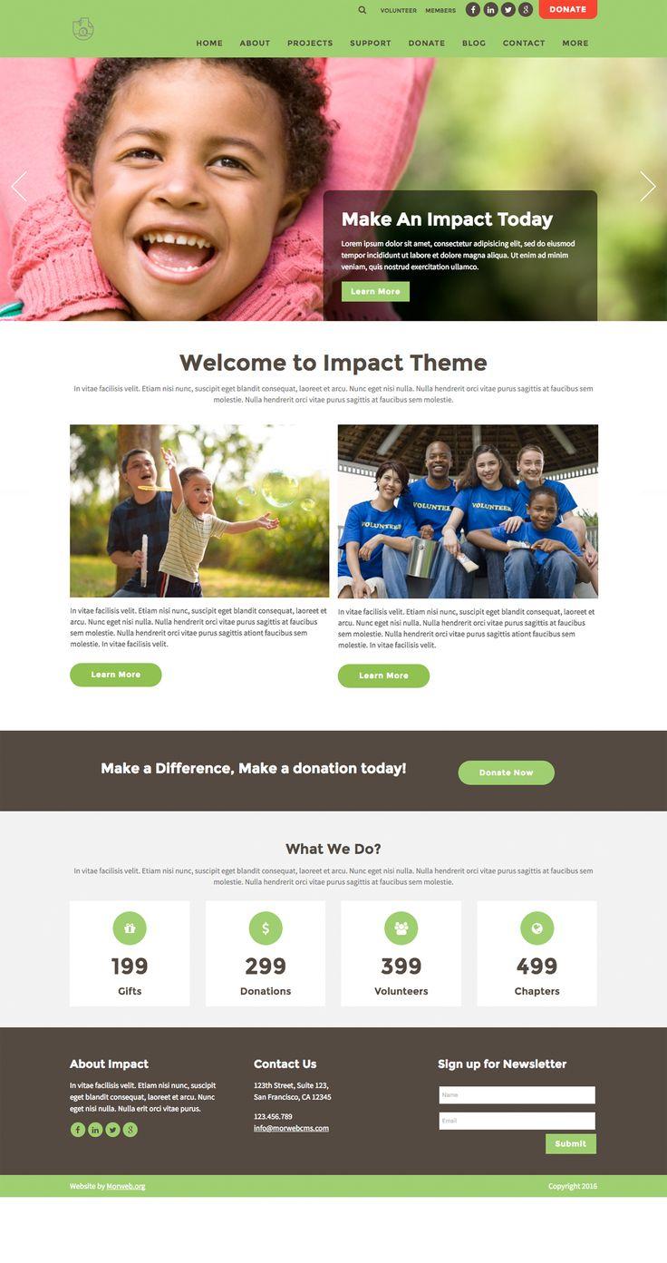Impact Theme - Morweb.org