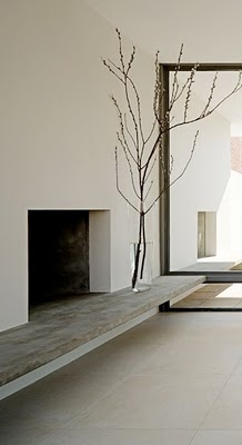 how do i love thee: fireplaces/minimalist
