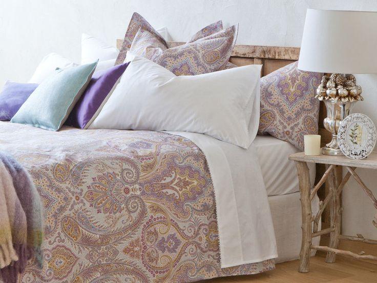 M s de 25 ideas incre bles sobre ropa de cama de paisley - Orientacion cama dormir bien ...