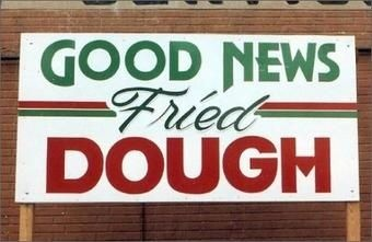 Fried dough is always good news...love it. Yummy.