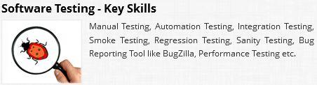 MYZEAL IT provide Manual Testing, Automation Testing, Integration Testing, Smoke Testing, Regression Testing, Sanity Testing, Bug Reporting Tool like BugZilla, Performance Testing etc .