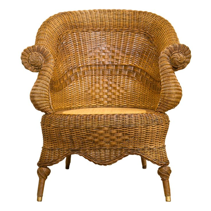 High Quality Victorian Wicker Chair