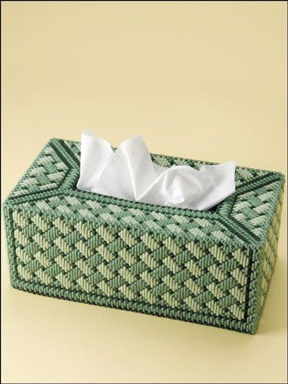 Pin By Jane Swing On Tissue Box Covers Plastic Canvas Stitches Plastic Canvas Tissue Boxes Plastic Canvas Patterns