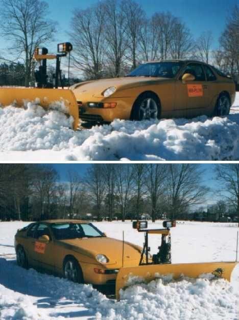 snow plow?