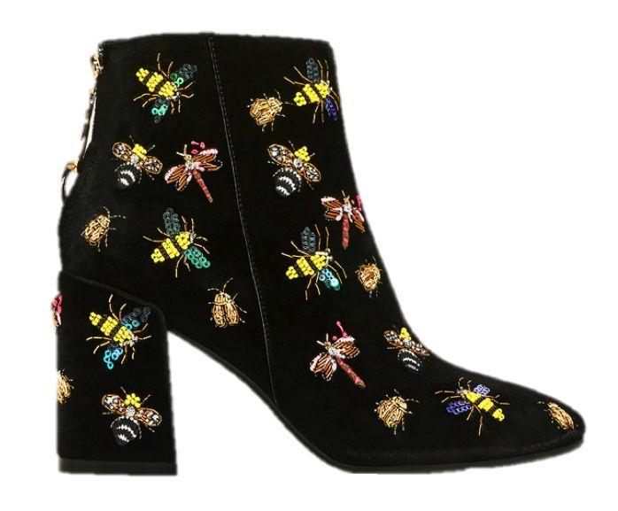 Botines Zara Insectos Temporada Otoño-Invierno 2016  #moda #mujer #zara #inditex