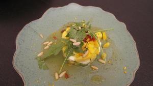Rezept: Mango-Mozzarella-Avocado Salat