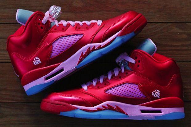 "Air Jordan V GS ""Valentines Day"""