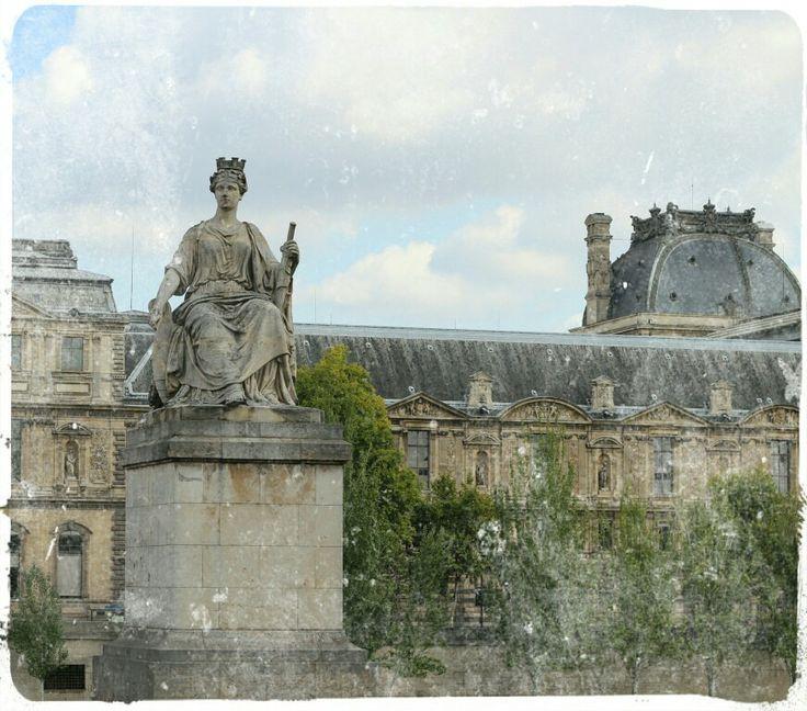 Watching over Paris.