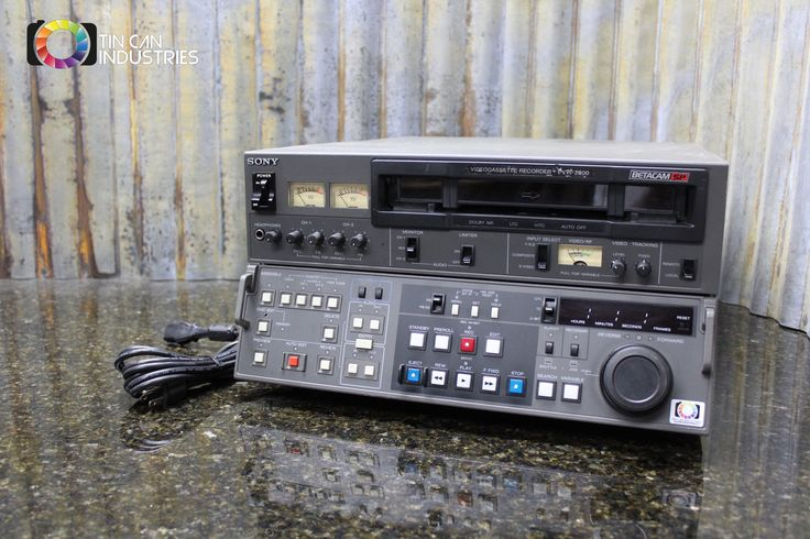 We know you were looking for one of these. http://tincanindustries.com/products/sony-betacam-sp-pvw-2800-editing-cassette-recorder-player-tested-free-shipping?utm_campaign=social_autopilot&utm_source=pin&utm_medium=pin If it is already sold, keep searching, there is plenty more to find.