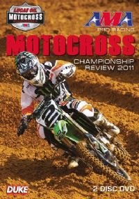 AMA Pro Racing Motocross Championship - Official review 2011 (New 2 DVD set)