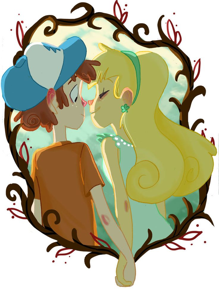 A new feeling - Dipper and Pacifica by Avril-Circus on DeviantArt