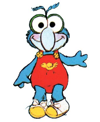 Baby Gonzo from the Muppet Babies