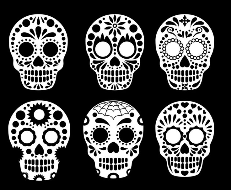 Amato Oltre 25 fantastiche idee su Tatuaggi teschio messicano su  UI06