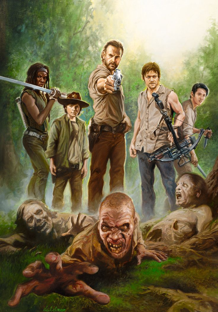 The Walking Dead by Leo Leibelman
