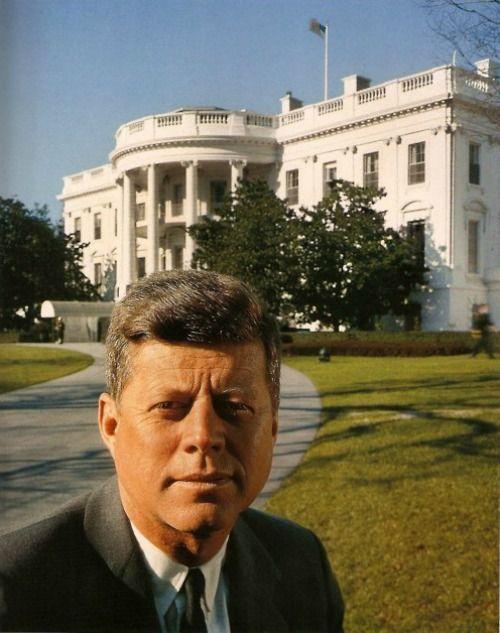 President John F. Kennedy at the White House