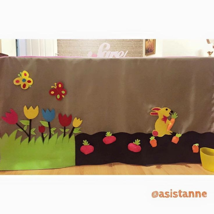Table cover play tent Play house Tofeltent Cord table play house