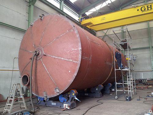 tank boilermaking, steel tanks, steel structures