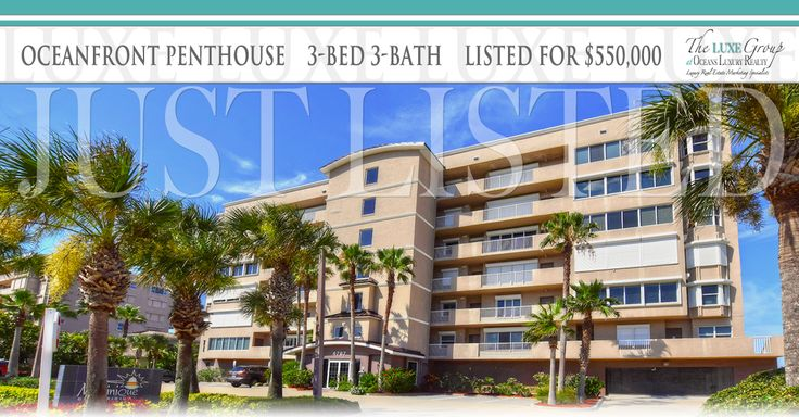 Luxury Oceanfront Penthouse 3-bed 3-bath condo for sale on Traffic-Free Beach. Martinique Condo - 4767 S Atlantic Ave in Ponce Inlet, FL 32127. Call The LUXE Group at Oceans Luxury Realty 386.299.4043