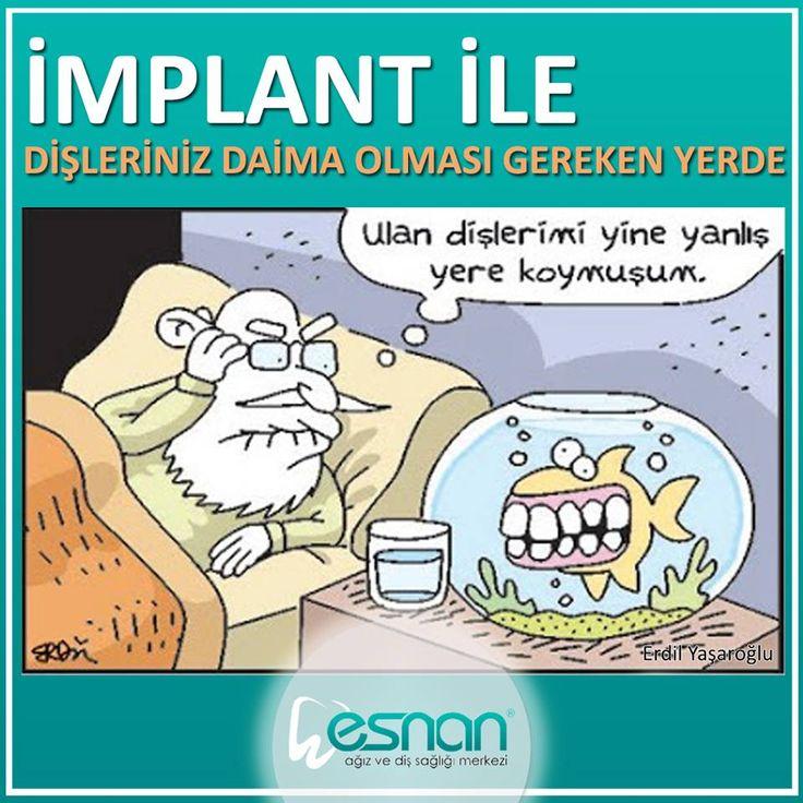 İmplant Tedavisi için şubelerimize bekleriz...  #esnan #implant #dişkliniği #dişhekimi #dentist #dentalhospital