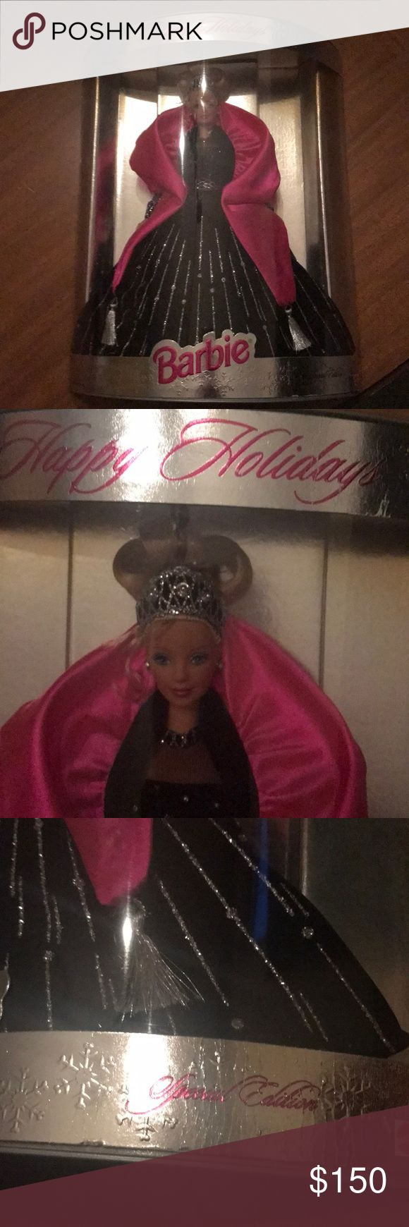 Happy holidays Barbie special edition NEW!! Great Christmas gift! Two Barbies new in box Barbie Other
