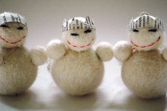 King Snowman Christmas Decoration or Ornament by TheNataleStore, $12.50