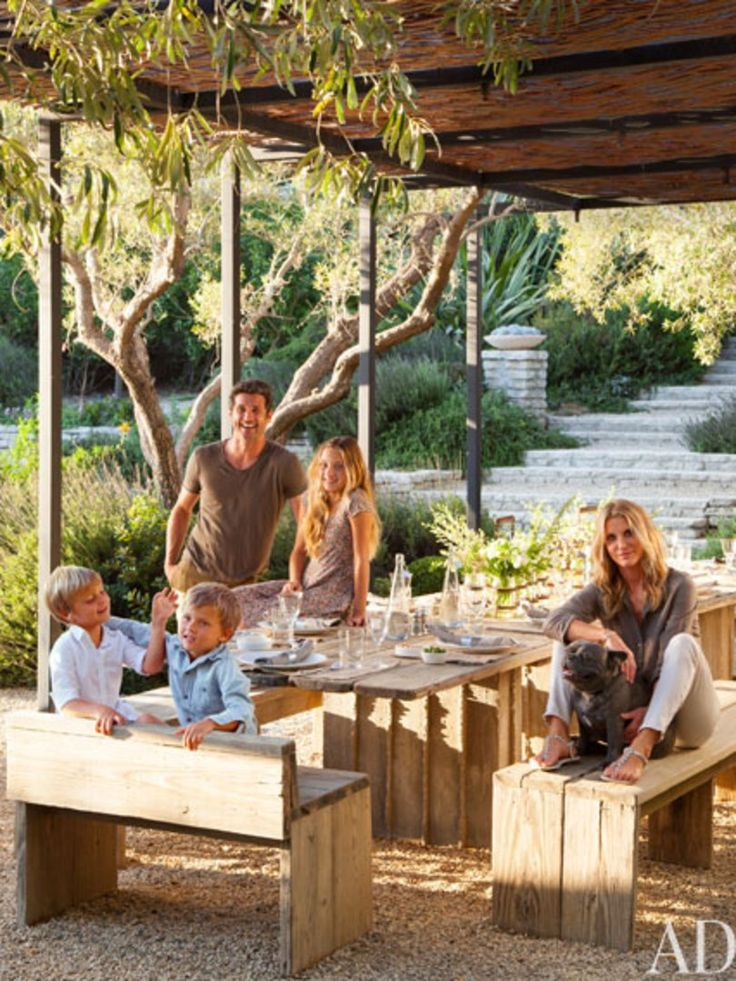 Patrick Dempsey and Family