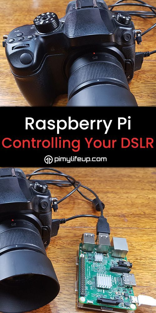 Control your DSLR using the Raspberry Pi