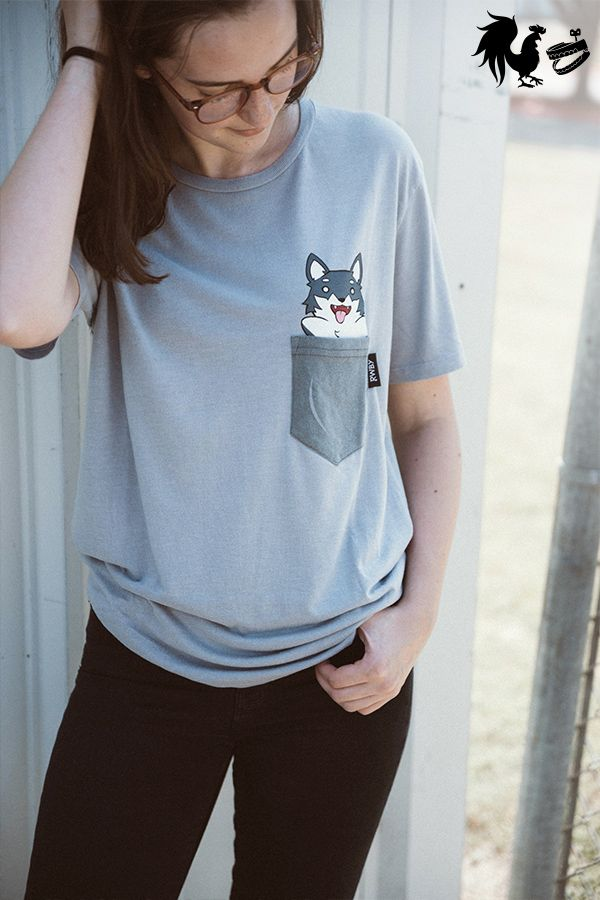 48ff70dc0 RWBY Zwei Pocket Tee Rooster Teeth Store, Sassy Shirts, Nerd Fashion,  Pocket Detail
