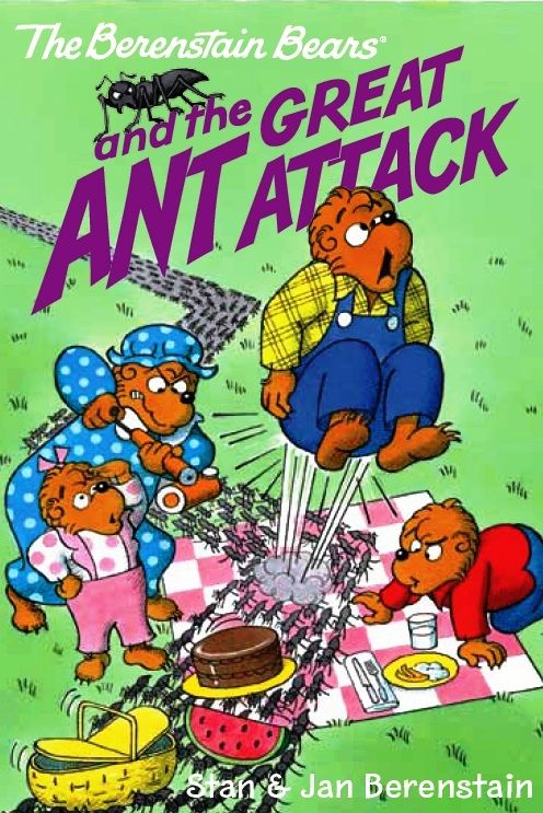 The Berenstain Bears and the Great Ant Attack - now available as an eBook