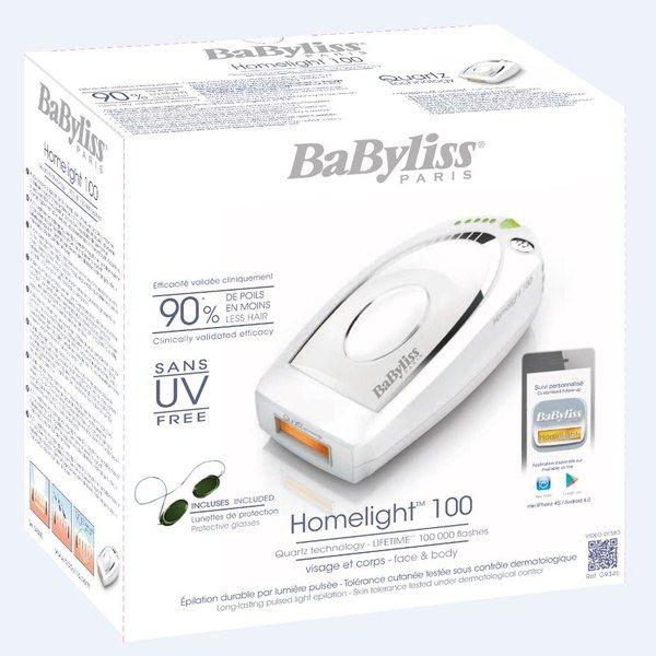 Epilateur à lumière pulsée Homelight® 100