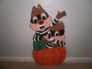 Disney Christmas Yard Art | Disney Chip and Dale Halloween Yard Art Decoration | eBay