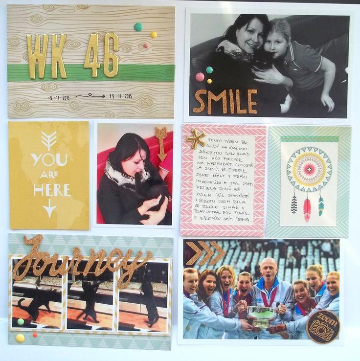 My little paper world...: WEEK 46