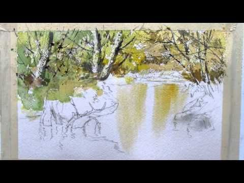 Watercolor demonstrations inspired by some of our great contemporary watercolorists for beginners and more