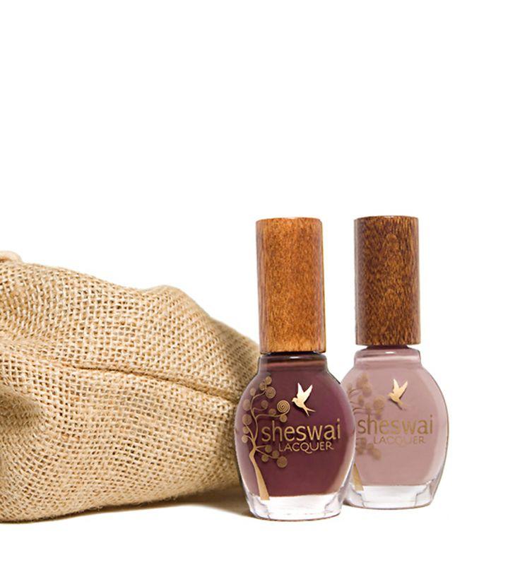 Oh my want. lavender nail polish duo, no formaldehyde