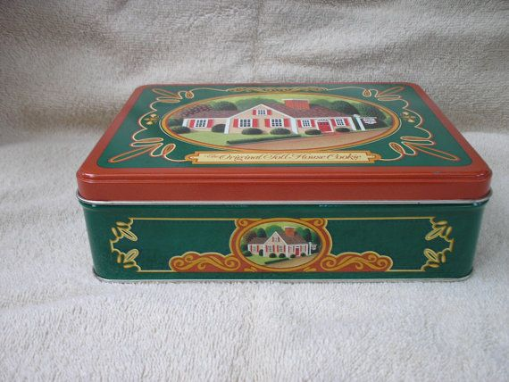 1987 Toll House Cookie tin... several listed, various prices!... have this one :-)Cookies Tins, House Cookies