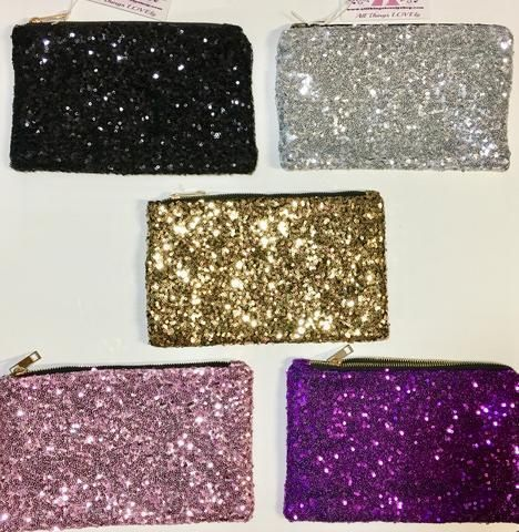 Sequin Clutch, Purses, Make up bag, Clutch, Evening bag, Accessories- On Sale for $10 at www.allthingslovelyshop.com  Repin if you like!