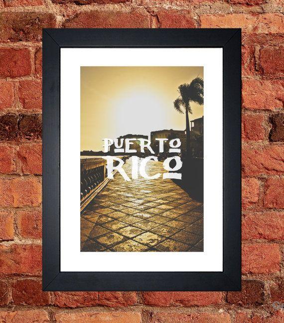 Puerto Rico Print - Digital download.