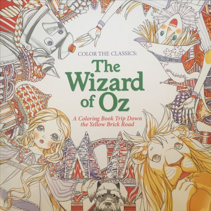 Color The Classics Wizard Of Oz