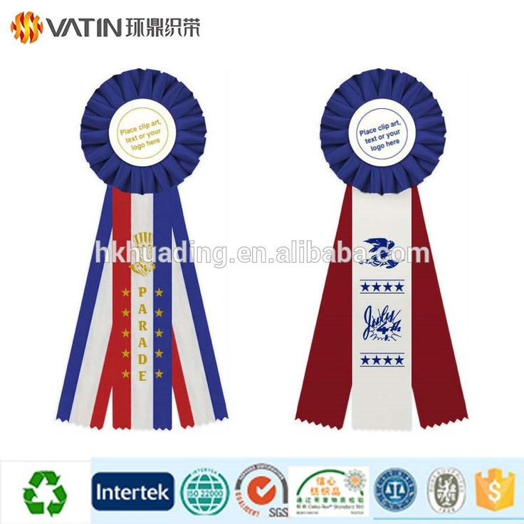 Wholesale Custom Logo Printed Sports Grosgrain Horse Show Event Celebrate it Holiday Ribbon