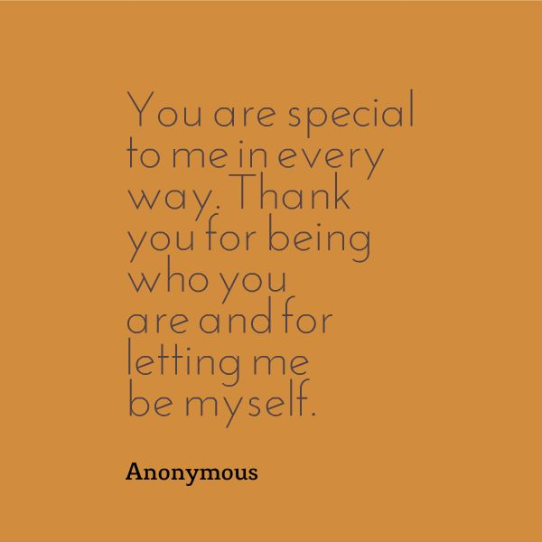 You Are Special Quotes: Quotes Or Sayings I Like