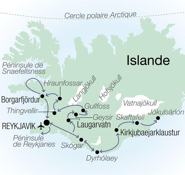 Autotour Sud Ouest de l'Islande - Clé en main voyages Islande