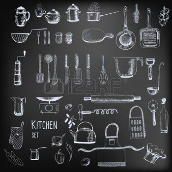 krijtbord keuken - Google zoeken