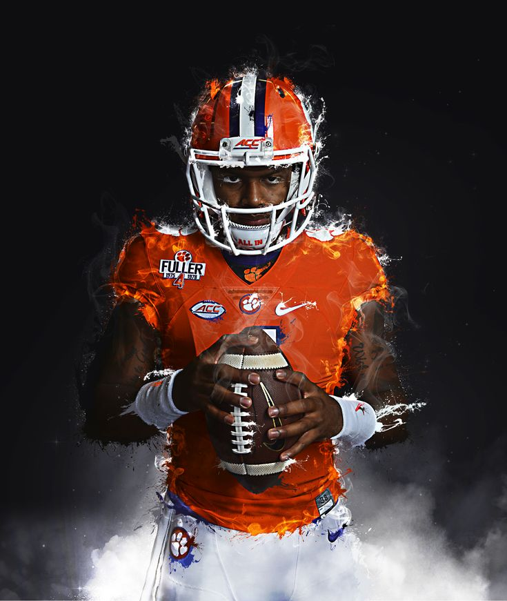 Deshaun Watson | Clemson Fan Art on Behance